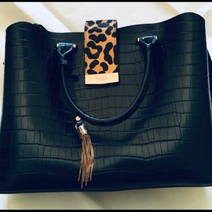 Leopard Cheetah Handbag *NWOT*